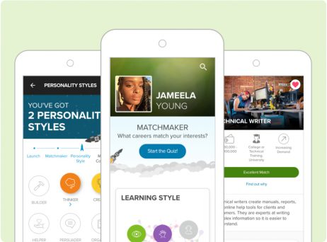 xello on mobile for remote learning