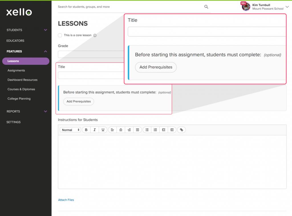 prerequisites for custom lessons image 1